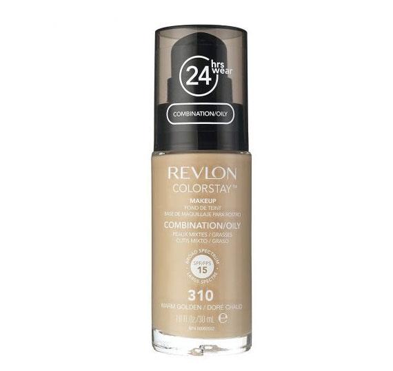 Fond De Ten Revlon Colorstay Oily Skin Cu Pompita - 310 Warm Golden, 30ml-big