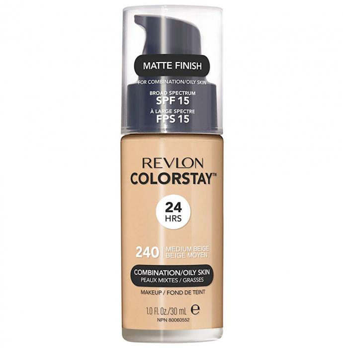 Fond De Ten Revlon Colorstay Oily Skin MATTE FINISH, 24H, SPF 15 - 240 Medium Beige, 30ml-big