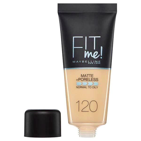 Fond de ten MAYBELLINE FIT ME Matte & Poreless 120 Classic Ivory, 30 ml-big