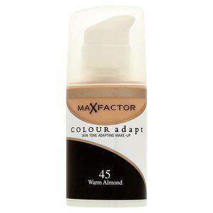 Fond de Ten Lichid MAX FACTOR Colour Adapt - 45 Warm Almond, 34 ml-big