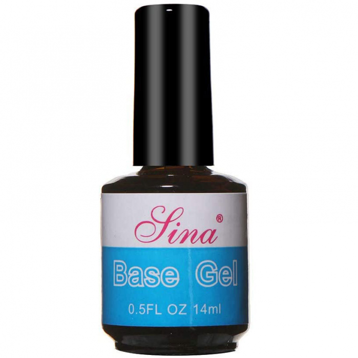 Gel de baza pentru oja semipermanenta Sina Base Gel, 14 ml-big