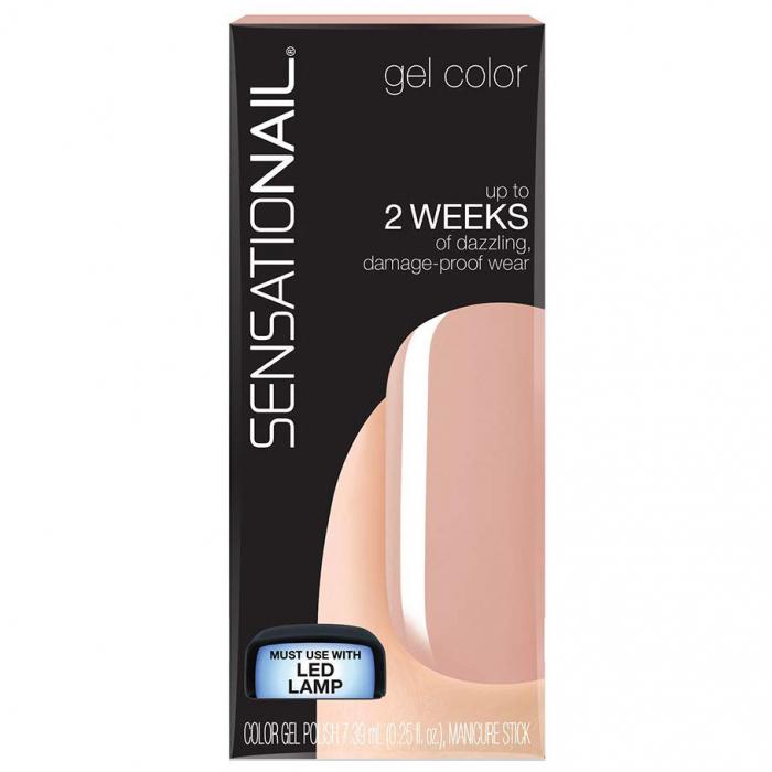Gel UV/LED semipermanent SENSATIONAIL Gel Color, Pink Sand, 7.39 ml-big