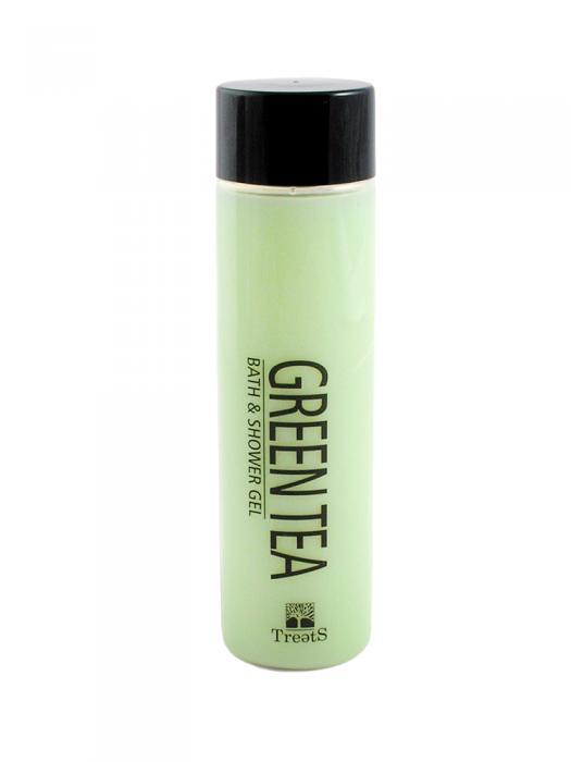 Gel de Dus si Baie TREETS cu Ceai Verde - 300 ml-big