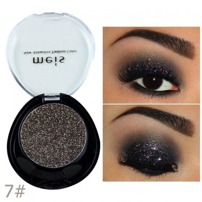 Glitter Multifunctional Meis New Attractive Color - 07 Brilliant Bronze, 4.5g-big