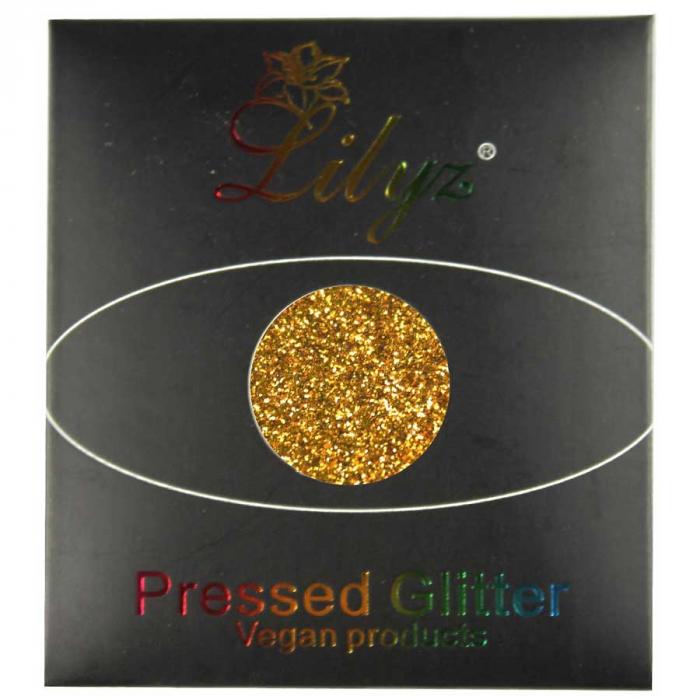 Glitter ochi Lilyz Pressed Vegan Glitter, Flawless, 1.5 g-big
