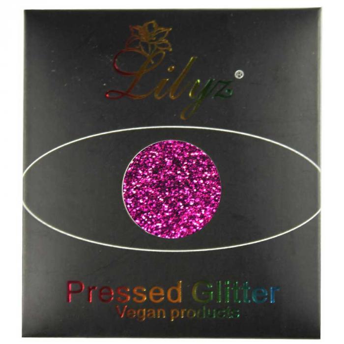 Glitter ochi Lilyz Pressed Vegan Glitter, Dazzle, 1.5 g-big