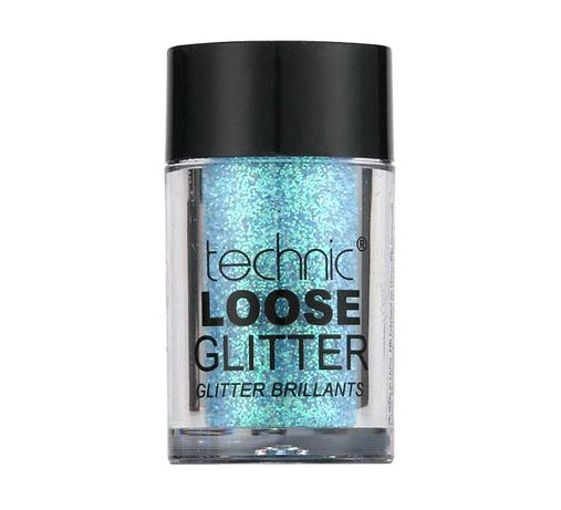 Glitter ochi pulbere TECHNIC Loose Glitter, Cape San Blas-big