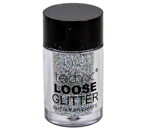 Glitter ochi pulbere TECHNIC Loose Glitter, Shark Skin-big