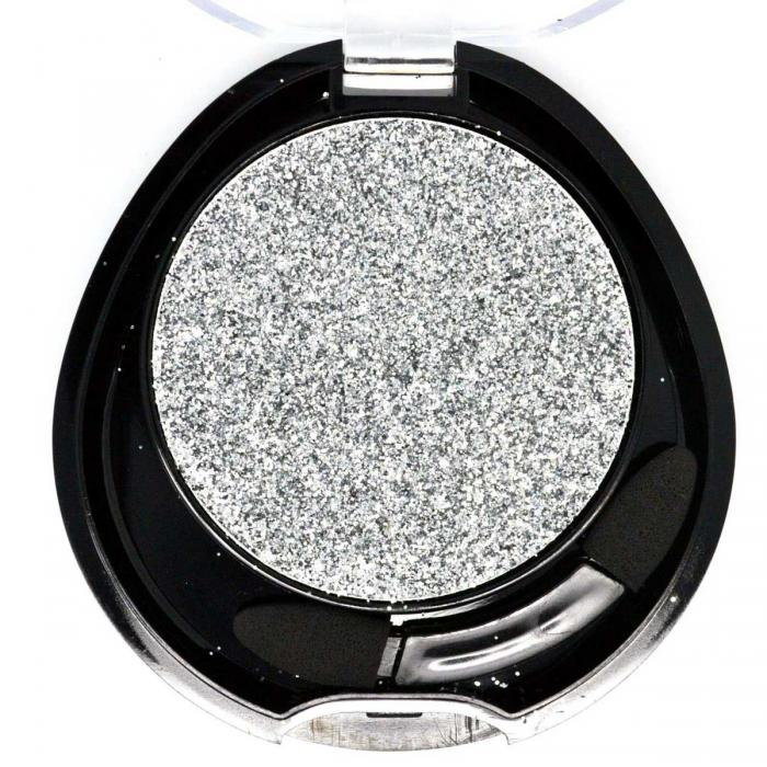 Glitter Multifunctional Meis New Attractive Color - 02 Brilliant Silver, 4.5g-big