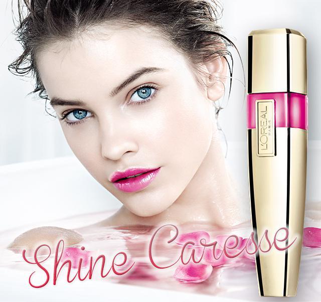 Gloss L'oreal Shine Caresse - 200 Princess-big