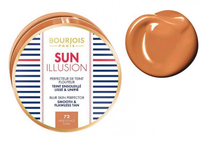 Iluminator Bourjois Sun Ilussion Blur Skin Perfector - 72 Dark-big