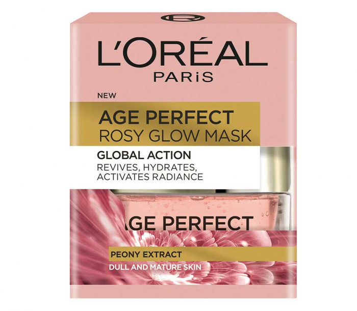 Masca regeneranta pentru ten imbatranit L'Oreal Paris Age Perfect Rosy Glow, 50 ml-big