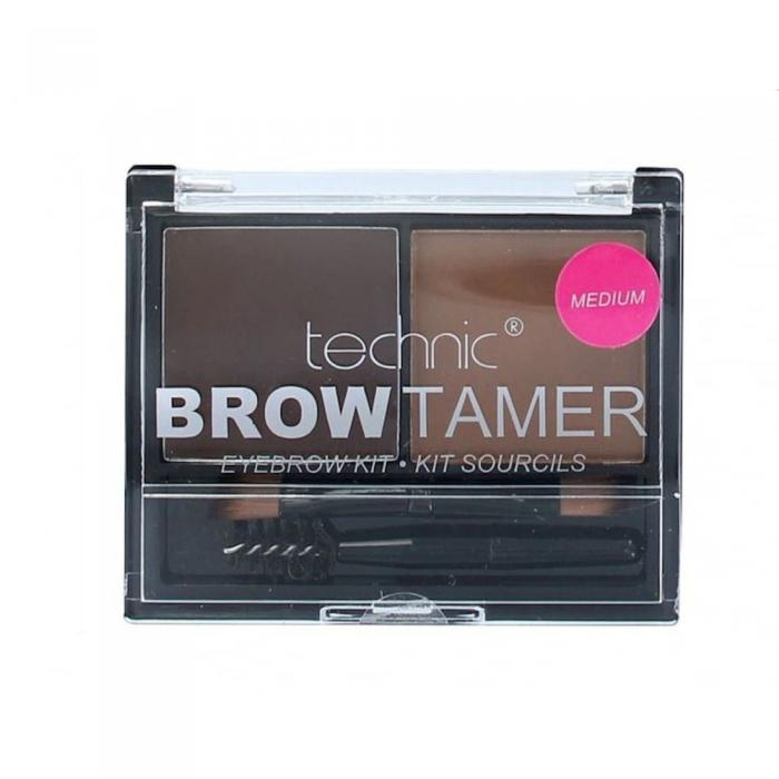 Kit Pentru Sprancene Cu 2 Nuante Technic Brow Tamer - Medium-big