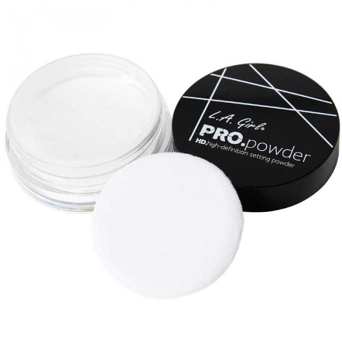 Pudra pulbere translucida, matifianta L.A Girl  HD PRO Setting Powder, 5 gr-big