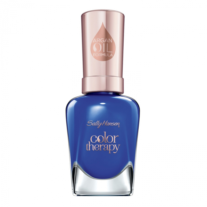 Lac De Unghii Sally Hansen Color Therapy, Tratament cu Ulei de Argan, 440 Ja-cozy 14.7 ml-big