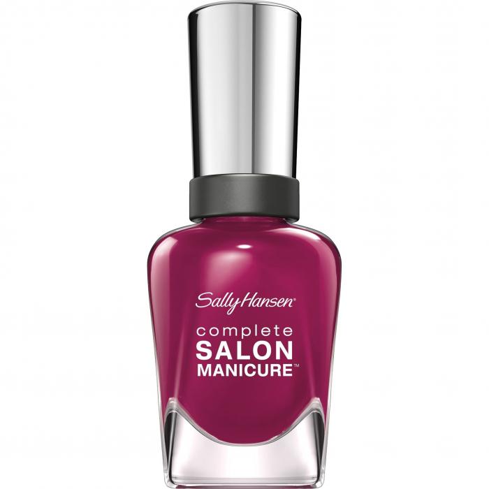 Lac de unghii Sally Hansen Complete SALON Manicure, 639 Scarlet Fever, 14.7 ml-big