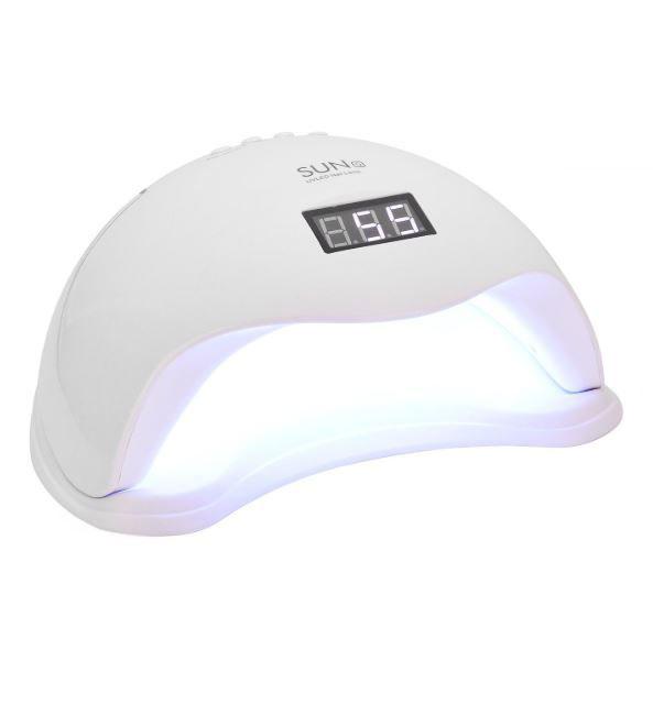 Set Lampa profesionala unghii UV LED SUN5, 48 W cu 10 Betisoare Portocal, Pila 7 fete si Tratament Cuticule L'Oreal Paris-big