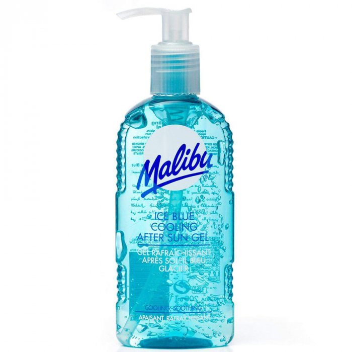 Lotiune After Sun MALIBU Ice Blue Cooling After Sun Gel, 200ml-big