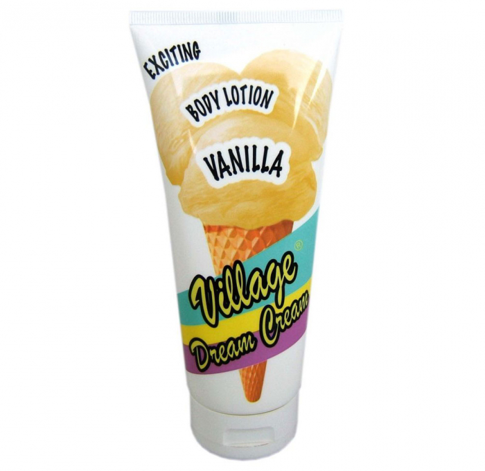Lotiune de corp cu VANILIE, Dream Cream, Village Cosmetics, 200 ml-big