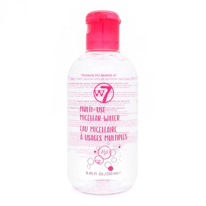 Apa micelara pentru tenul sensibil W7 Multi-Use Micellar Water, 250 ml-big
