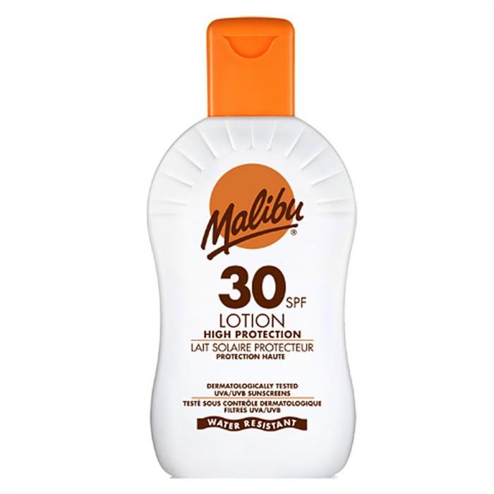 Lotiune Protectie Solara MALIBU High Protection Lotion, Waterproof, SPF 30, 100ml (Travel size)-big