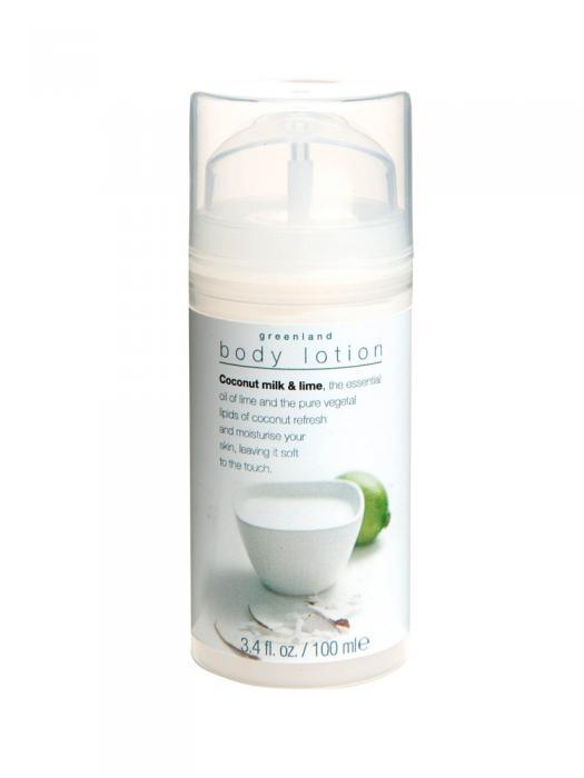 Lotiune De Corp Greenland Cu Lapte De Cocos Si Lamaie Verde-100 Ml