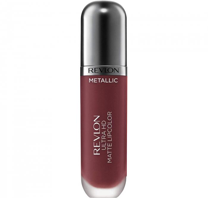 Luciu de buze mat Revlon Ultra HD Metallic Matte Lip Color HD, 705 Shine-big