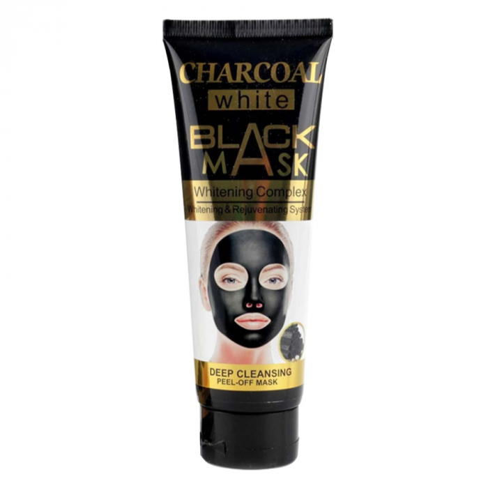 Masca de fata exfolianta cu Carbune Activ, CHARCOAL Black Mask, 130 ml-big