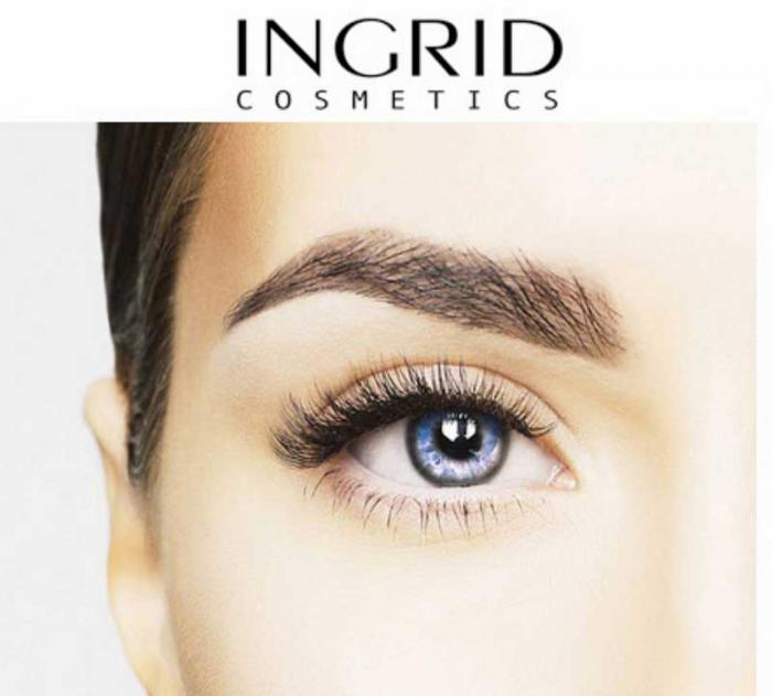 Mascara INGRID Modeling Mascara, Negru, 5 ml-big