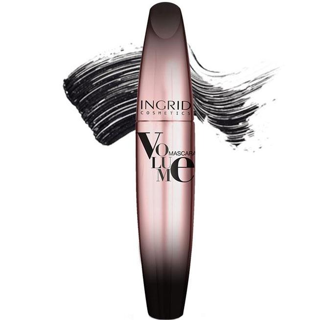 Mascara INGRID Volume Mascara, Negru, 5 ml-big