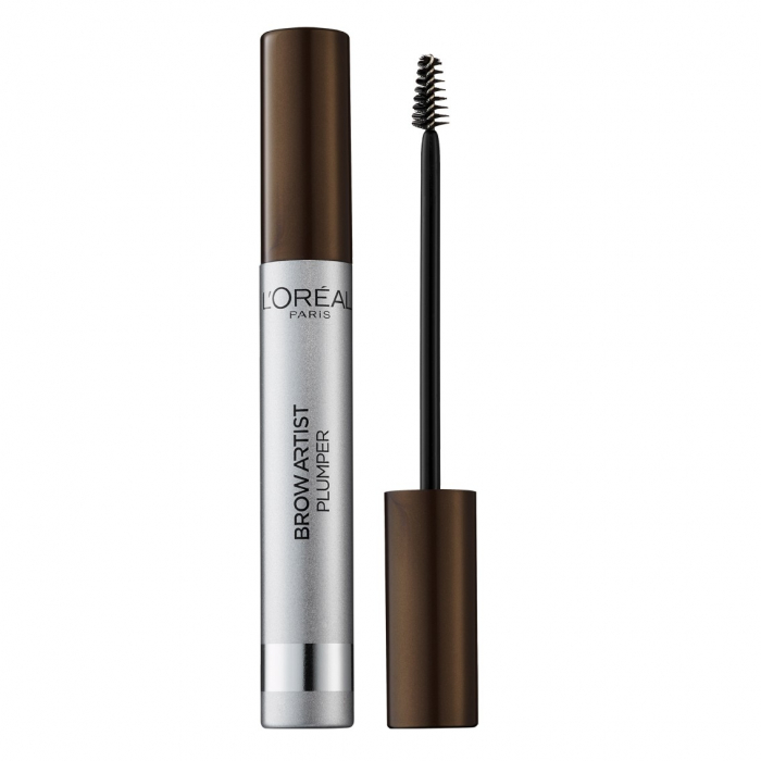 Mascara pentru sprancene L'Oreal Paris Brow Artist PLUMPER, Medium/Dark, 7 ml-big