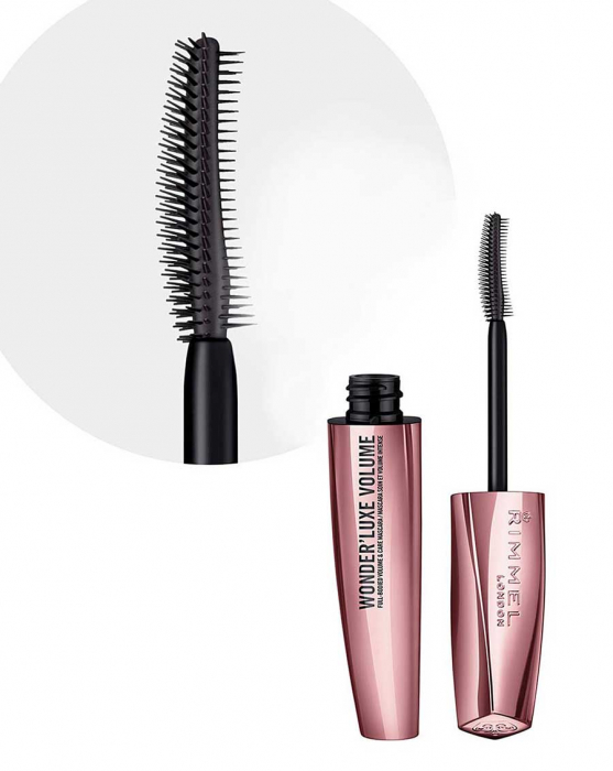 Mascara Rimmel London Wonder'Luxe Volume, 001 Black, 11 ml-big