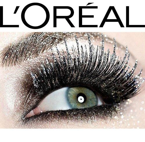 Mascara Transparent cu Sclipici L'Oreal Paris Top Coat Volume Million Lashes Glitter, 8.9 ml-big