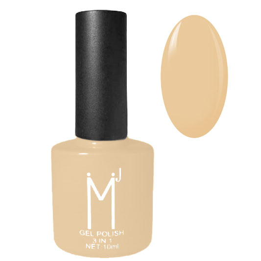 Oja semipermanenta 3 in 1, MJ Gel Polish, Nuanta 005, Perfect Nude, 10 ml-big