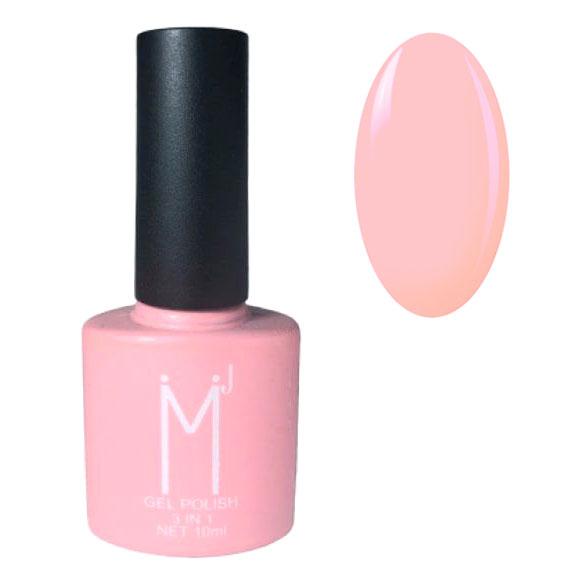 Oja semipermanenta 3 in 1, MJ Gel Polish, Nuanta 007, Light Pink, 10 ml-big