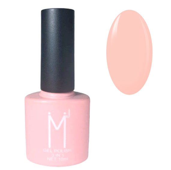 Oja semipermanenta 3 in 1, MJ Gel Polish, Nuanta 011 Fashion Pink, 10 ml-big