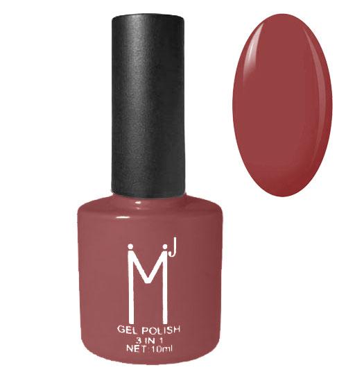 Oja semipermanenta 3 in 1, MJ Gel Polish, Nuanta 058 Elegant Pink, 10 ml-big