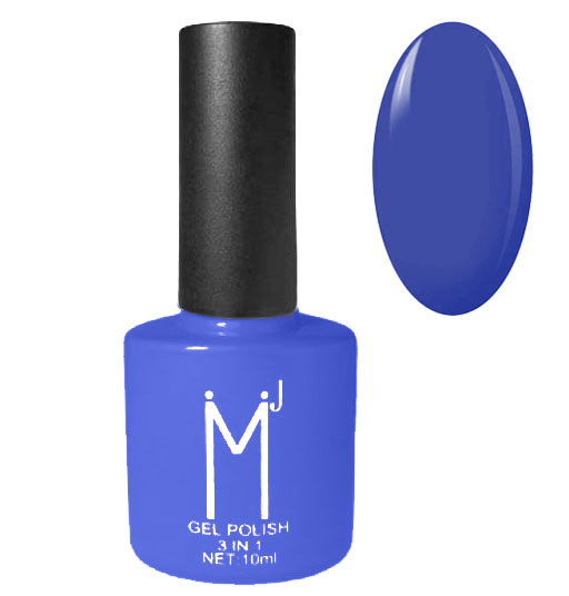 Oja semipermanenta 3 in 1, MJ Gel Polish, Nuanta 092 Indigo Bleu, 10 ml-big