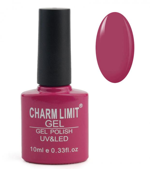 Oja semipermanenta CHARM LIMIT Gel Polish UV & LED, Nuanta 048 Regal Berries, 10 ml-big