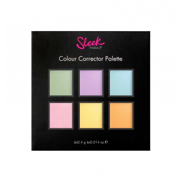 Paleta 6 Corectoare Cremoase SLEEK MakeUP Colour Corrector Palette, 6x0.4 gr-big