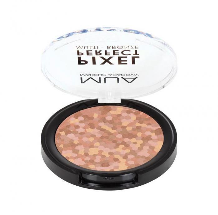 Paleta bronzanta Pixel Perfect Multi Bronze MUA Makeup Academy Professional Professional, Terracotta Glow-big