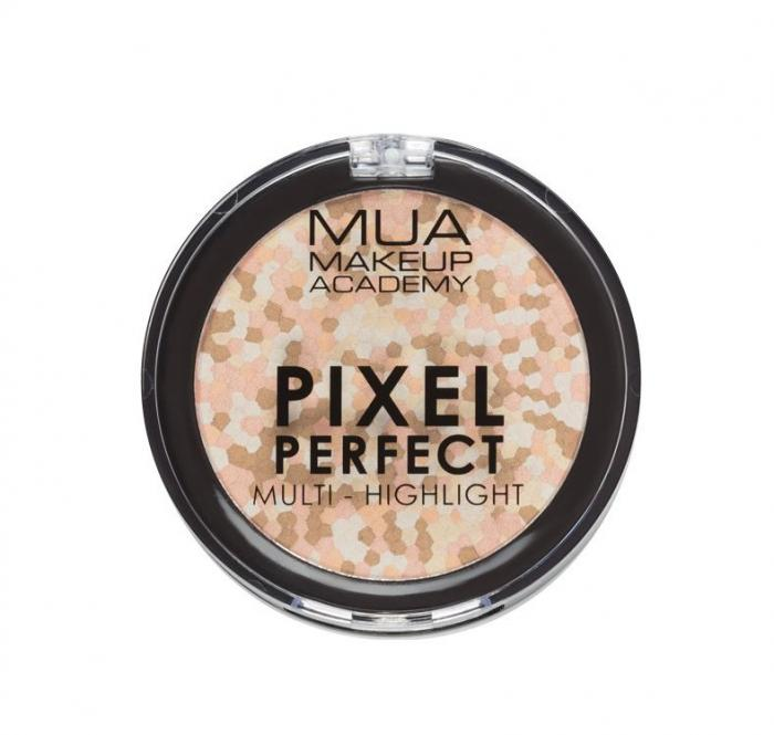 Paleta iluminatoare Pixel Perfect Multi Highlight Powder MUA Makeup Academy Professional Professional, Moonstone Shine-big
