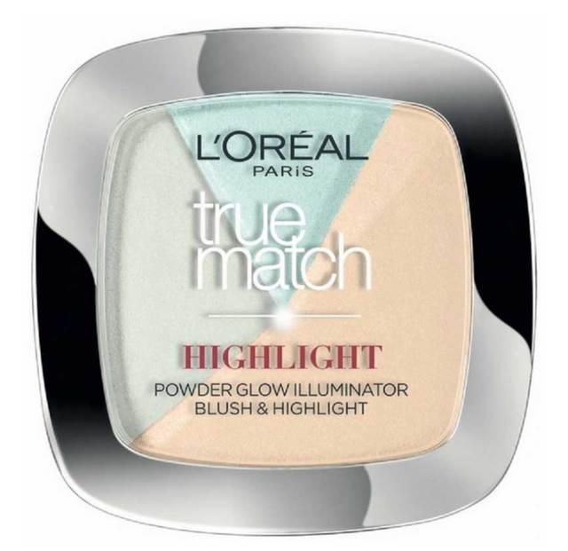 Paleta Cu 3 Iluminatoare L'oreal True Match HIGHLIGHT - 302 R/C Icy Glow, 9 gr-big