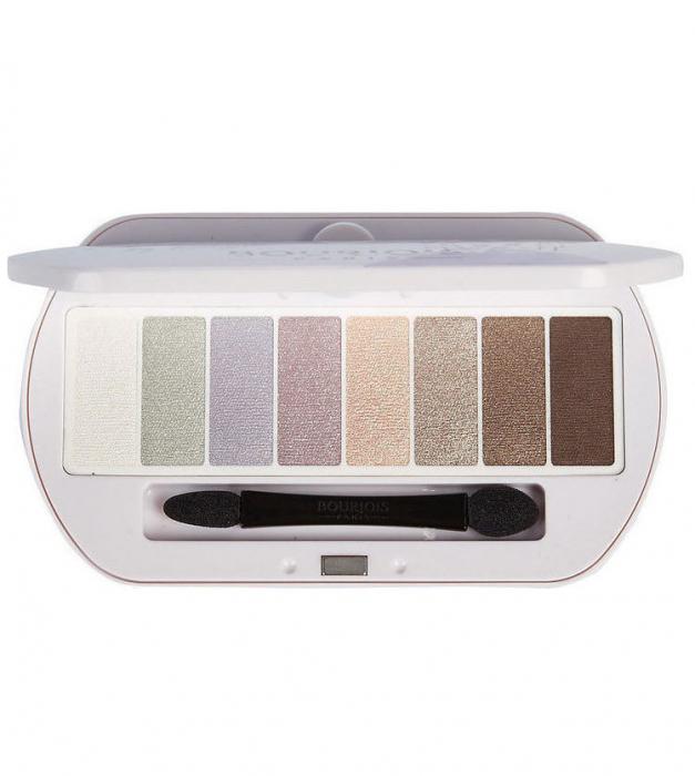 Paleta de Farduri Bourjois Paris Les Nudes Eyeshadow Palette, 01 Les Nudes-big