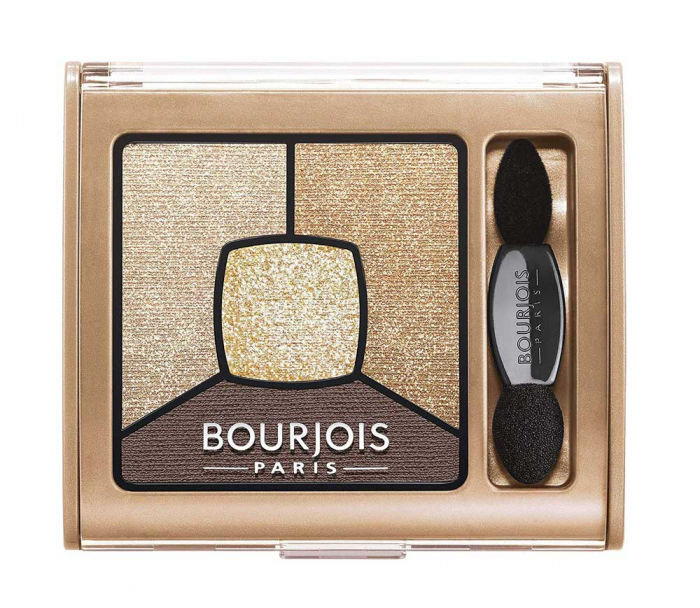 Paleta de Farduri Bourjois Smoky Stories, 16 I Gold It, 3.2 gr-big