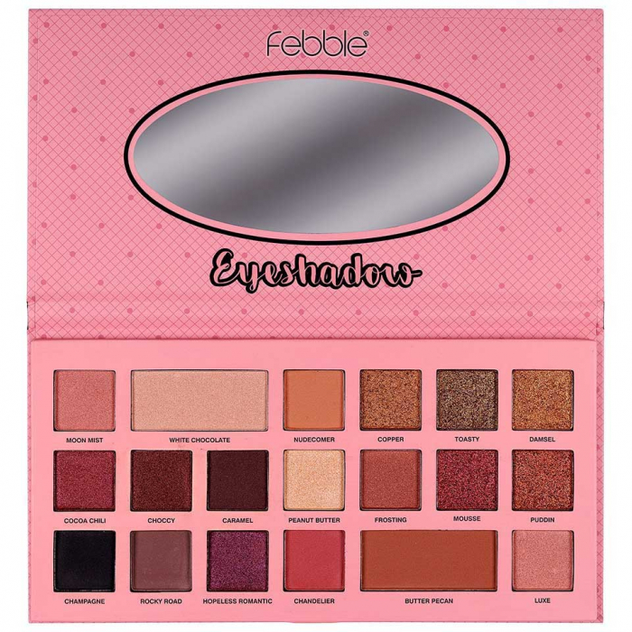 Paleta de farduri Febble Eyeshadow, 19 Colors-big