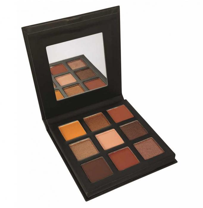 Paleta Farduri TECHNIC Pressed Pigment Palette, Enticing, 9 culori-big