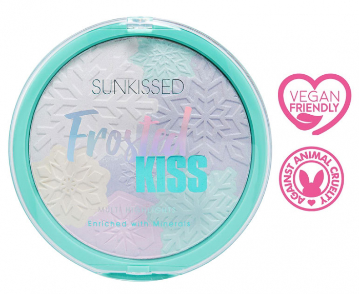 Paleta Iluminatoare SUNKISSED Frosted Kiss Multi Highlights, 28.5 g-big