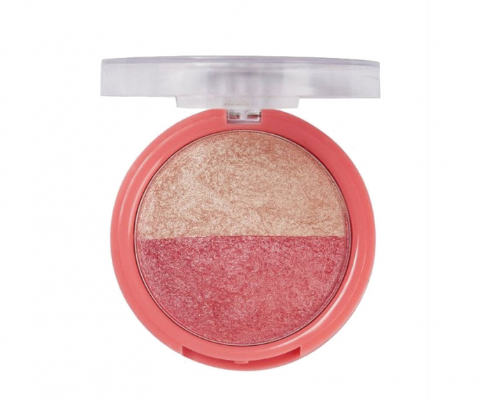 Paleta Iluminatoare Duo SUNKISSED Baked to Perfection Blush, 17 g-big