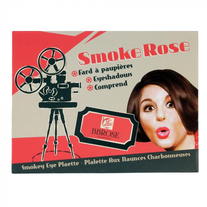 Paleta profesionala cu 12 corectoare cremoase, BB Rose Cosmetics, Smoke Rose, 25 g-big
